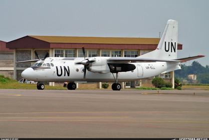 U.N. Antonov AN-24