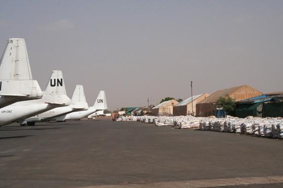 U.N. Antonov AN-12 and L-100 (C-130)