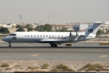 U.N. Bombardier CRJ-200