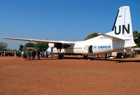 U.N. Fokker 50