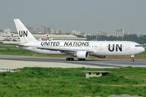 U.N. Boeing B-767