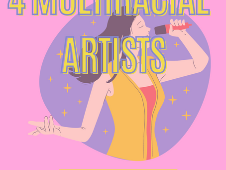 March 23, 2021: Tuesday Tales - 4 Multiracial Artists