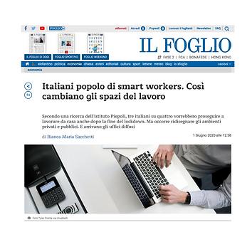 Italiani popolo di smart workers. Così cambiano gli spazi del lavoro