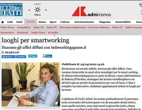 Rivoluzione airbnb, case vacanza riconvertite in luoghi per smartworking