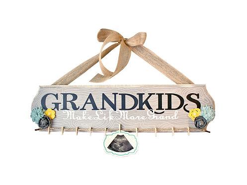 Grandkids Wood Sign