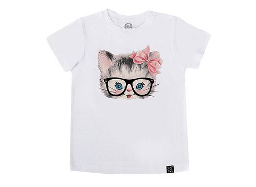 Hipster Kitty Tee