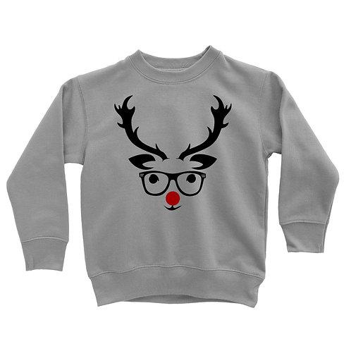 Hipster Rudolph Sweatshirt