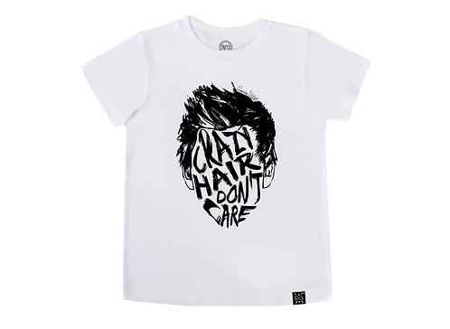 Crazy Hair Don't Care Tee