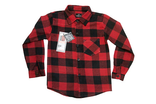 Kids Buffalo Plaid Shirt