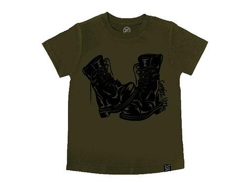 Combat Boots Tee