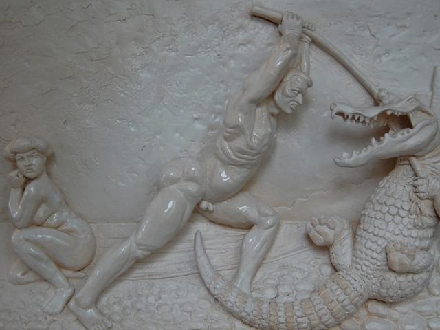 Persée tuant le dragon, F.Vallotton