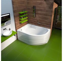 ванна мирсант Ялта 150х100 в интерьере