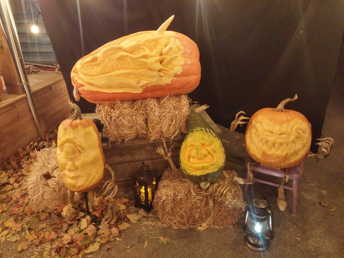 It's what we've all been waiting for! Check out this year's collection of pumpkins, carv