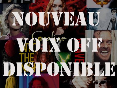 VOIX-OFF HORREUR