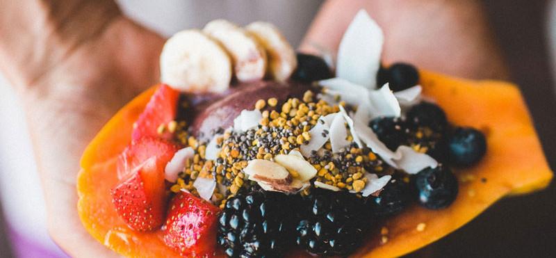 Tropical Fruit Dessert