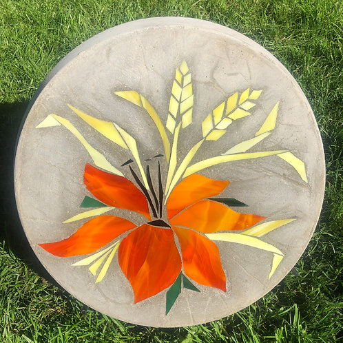 Prairie Lily with Wheat