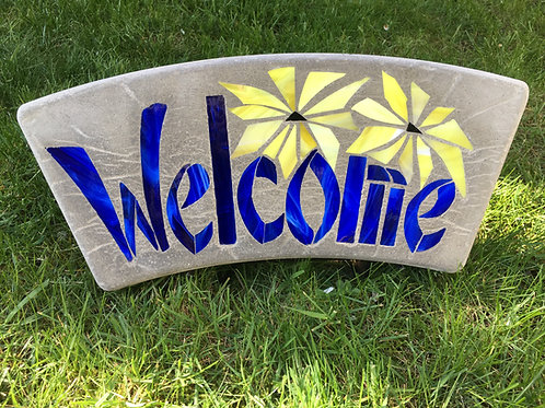 Welcome with Sunflower