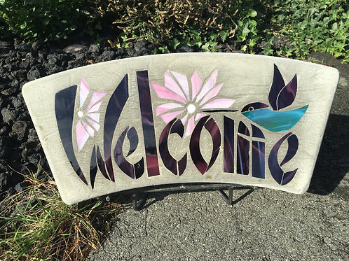 Welcome with Humming Bird