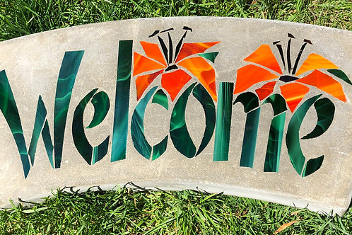 Welcome Arch with Prairie Lilies