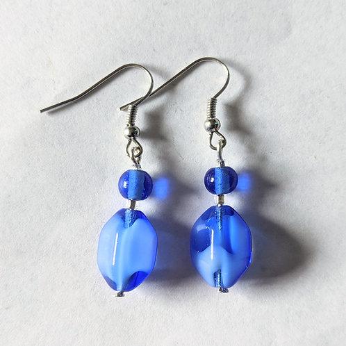 """""""Cobalt"""" earrings"""