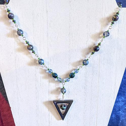 """Centroid"" necklace"