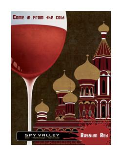 Russian Red promo poster (unpub)