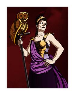 Steampunk Athena