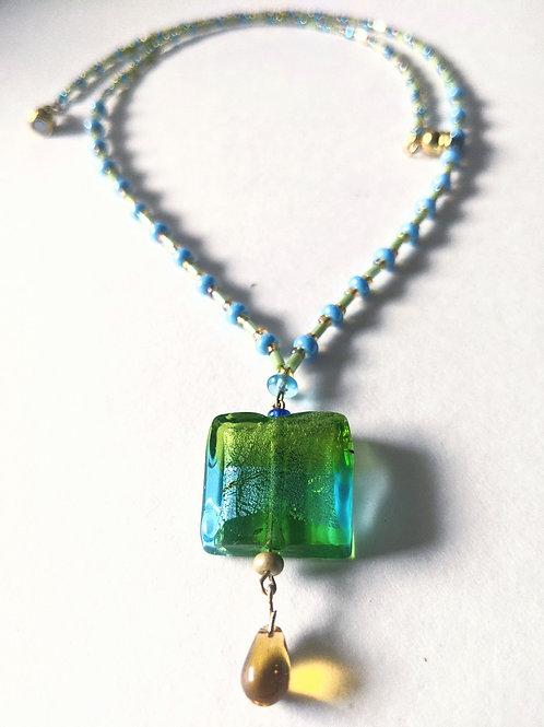 """Spring Rain"" necklace"