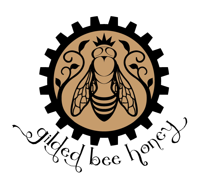 Gilded Bee Honey logo