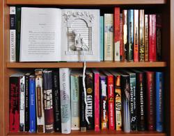 """""""Rapunzel"""" book sculpture"""
