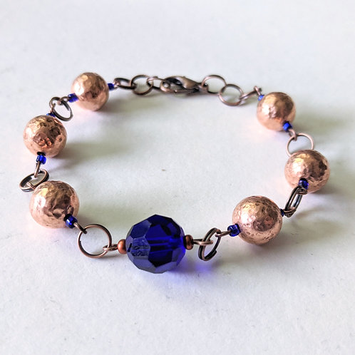 """Midnight Copper"" bracelet"