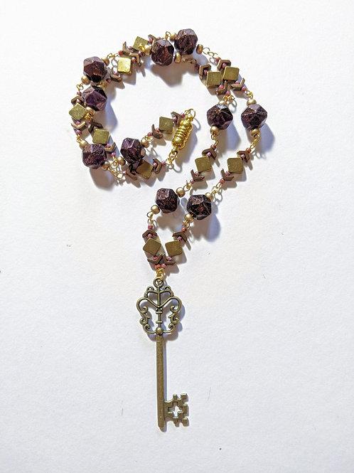 """Chatelaine's Attic Key"" necklace"