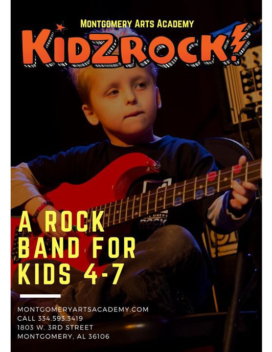 Rock Bands Are For Kids!