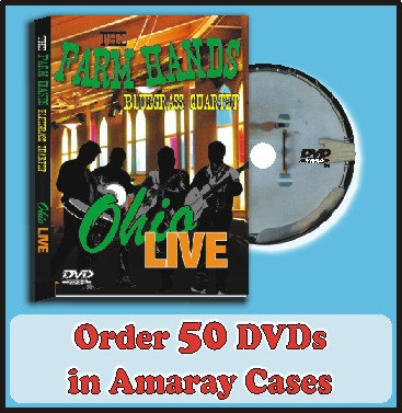 50 DVDs in Amaray Cases Full color discs included