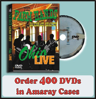 400 DVDs in Amaray Cases Full color discs included