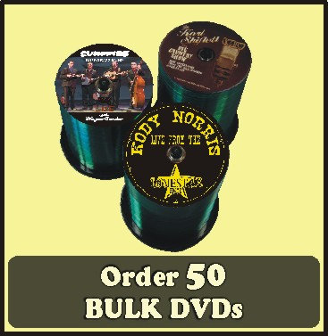 50 BULK DVDs full color discs