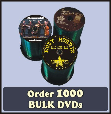 1000 BULK DVDs full color discs