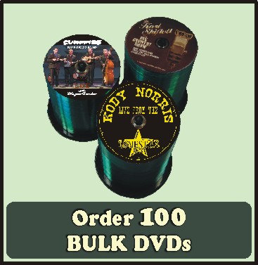100 BULK DVDs full color discs