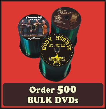 500 BULK DVDs full color discs