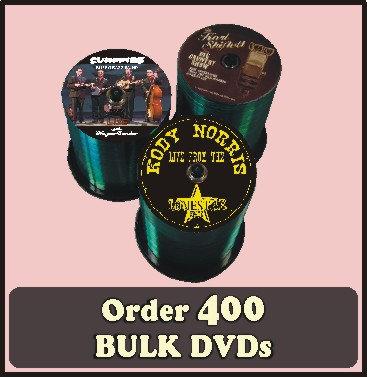 400 BULK DVDs full color discs