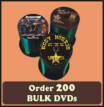 200 BULK DVDs full color discs