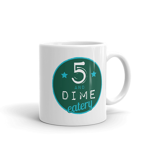 5 and Dime Coffee Mug