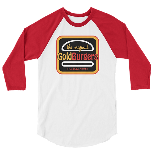 Goldburgers 3/4 Sleeve T-Shirt