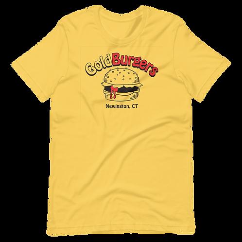 Goldburgers Old School Logo - Mustard Yellow