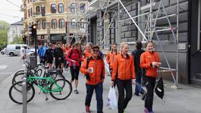 Janne Elin og Bjørn Ivar har gjort det igjen, og ultra tøffingene nærmer seg mål på Haukeliseter