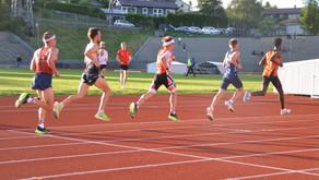 """""""håper vi kan løpe med fjær etterhvert, da slipper vi trene så mye, tar jo mye tid"""""""