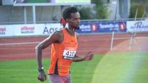 Zerei verdens 5.beste 10km løper blant løpere uten fartsholdere. OL aktuell også  på 10.000m