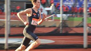 Jakob dobbelt EM gull, Narve G. Nordås  5.plass i 3000m finalen m/3.41.00 på siste 1500m