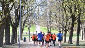 Løpetur i Frognerparken og stafettmoro lørdag - 4 eller 5 lag, 3 ledige plasser på damelagene