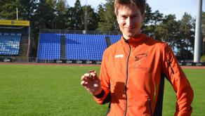Svein Olav fin utvikling mellomdistanse, flyttet 800m pers med over 8 sek til 2.07.9 på Sola stadion